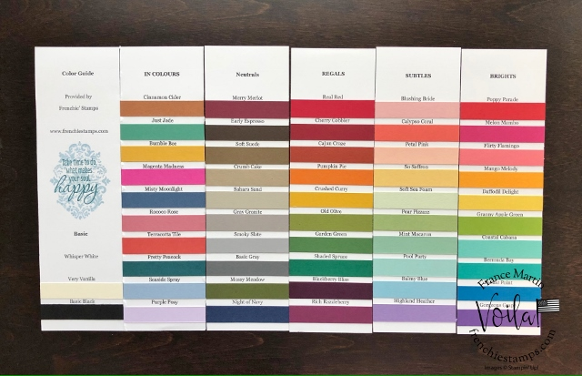 Stampin'Up!® Color Swatches with qualified order.