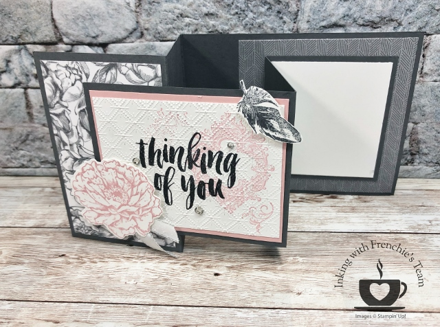 Frenchie' Team Showcasing New Release Stamp set in the Stampin'Up! annual Catalog 2020-2021.