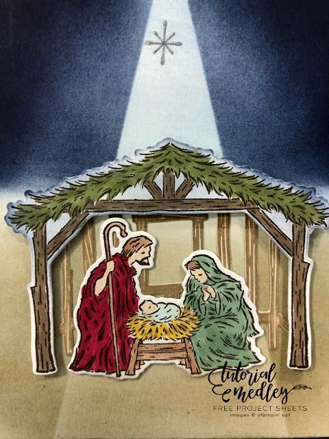 Spotlight On Peaceful Nativity