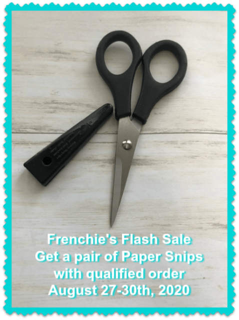 Frenchie's Flash Sale Paper Snips