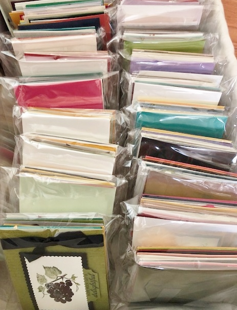 World Card Making Day with Frenchie Free pack of cards with qualified order