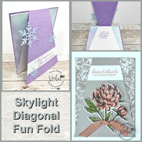 Skylight Diagonal Fun Fold