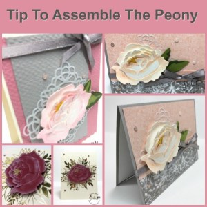 Tips Assembling The Peony Die-Cut