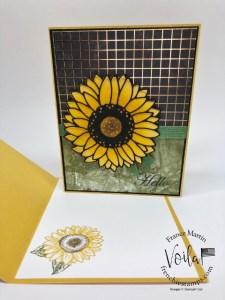 Celebrate Sunflowers Simple Card