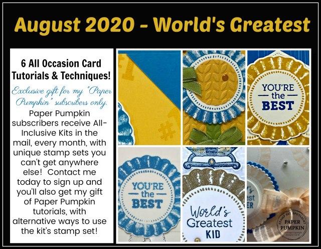 World's Greatest August Paper Pumpkin Extra