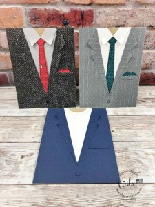 Tips with the Suit & Tie Dies Simple Masculine Cards