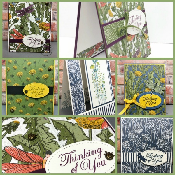 Card Showcase With The Dandy Garden Designer Paper