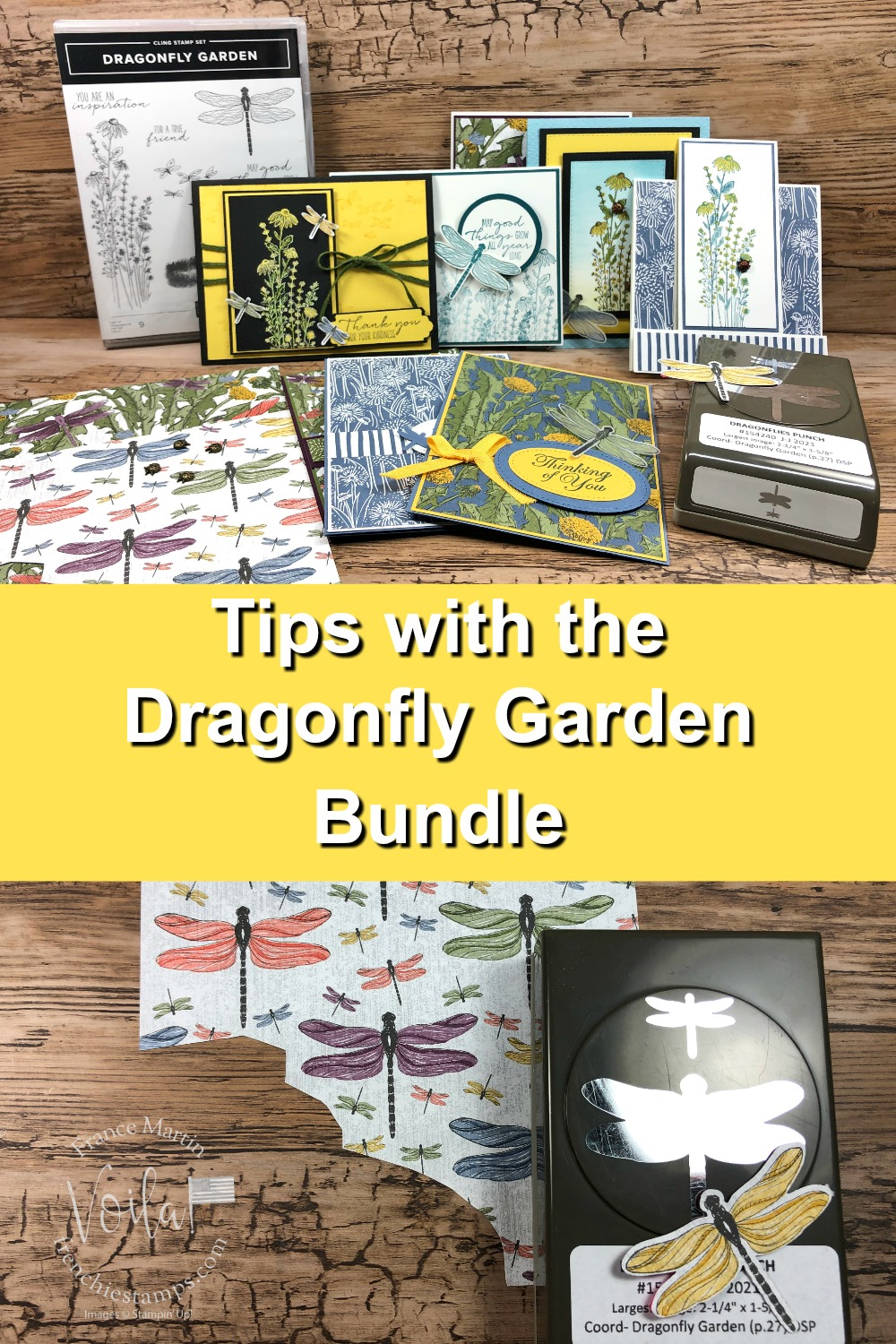 Tips For The Dragonfly Garden Bundle With Punch