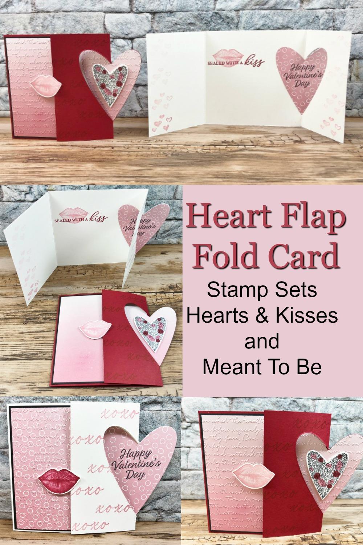 Heart Flap Fold Card