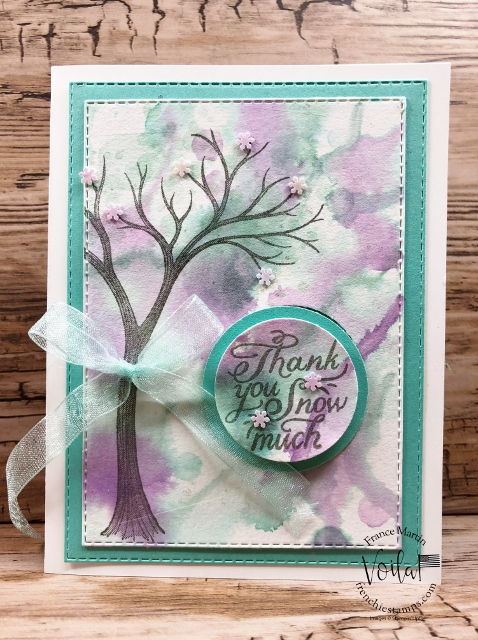 Life is Beautiful with a simple watercolor background.