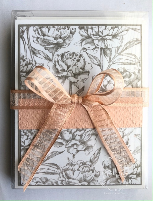 Prized Peony emergency card kit.