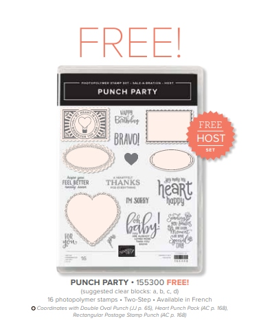 Punch Party Stamp Set
