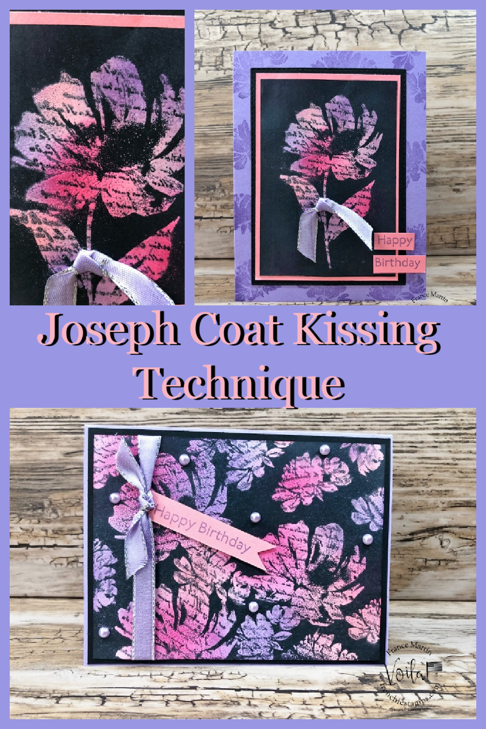 Joseph Coat Kissing Technique with Art Gallery Stamp Set