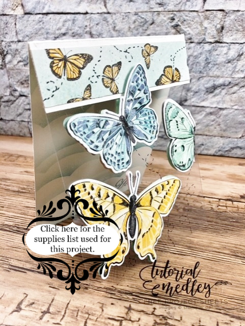 Floating Butterfly with the Butterfly Brilliance bundle .