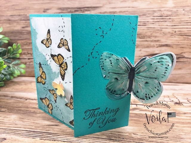 Flip Fold Card with the Butterfly Brilliance Bundle.