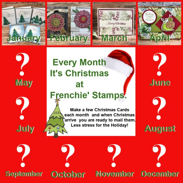 Twelve month of Christmas with Frenchie's.
