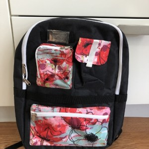 Floral Backpack  Stampin'Up!® Logo merchandise  New condition