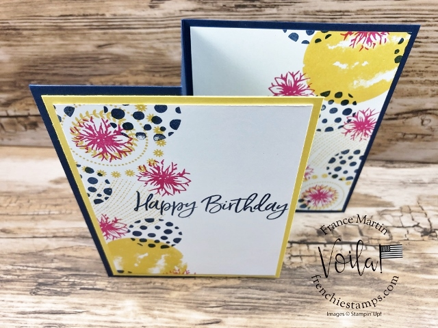 Circle Celebration Quick Z Fold With 5 Color Combos.