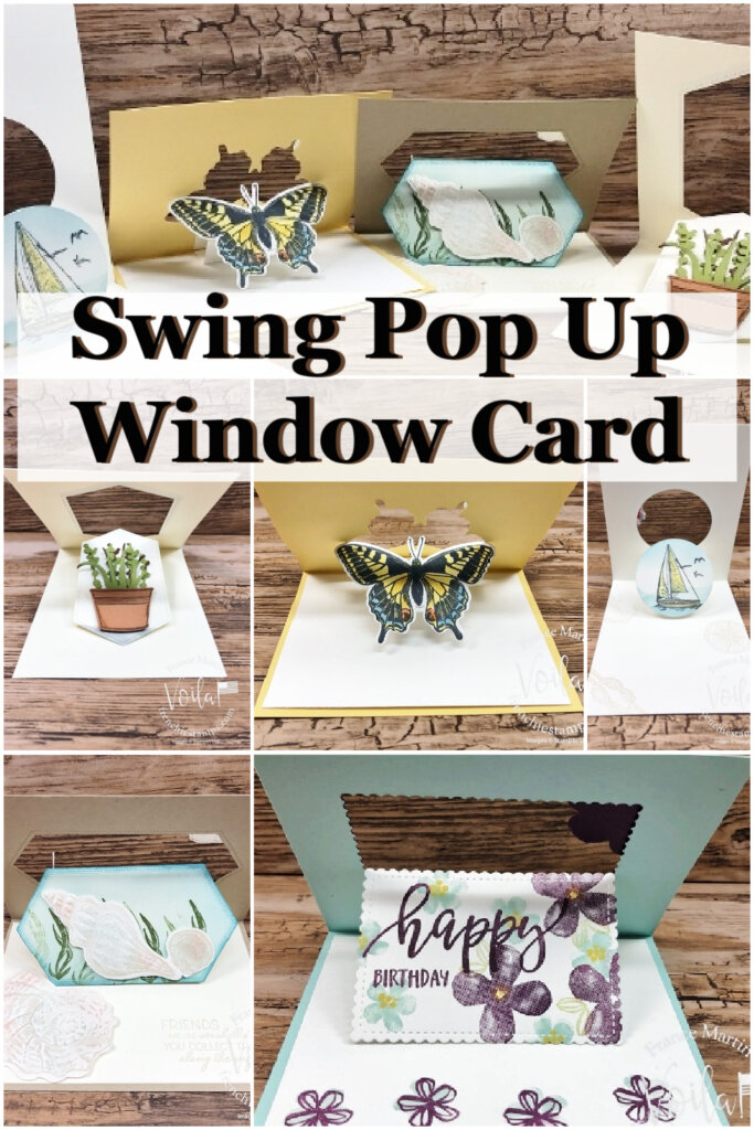 Swing Pop Up Window Fun Fold