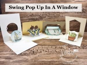 Swing Pop Up Window Fun Fold