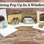 Swing Pop Up Window Fun Fold.