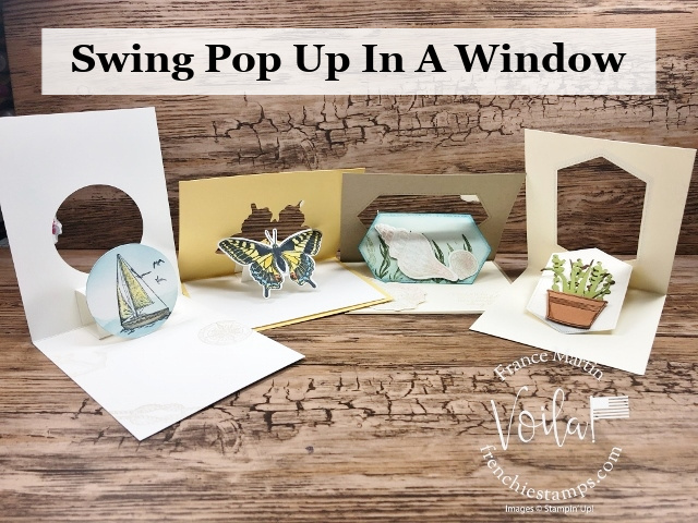 Swing Pop Up Window Fun Fold.