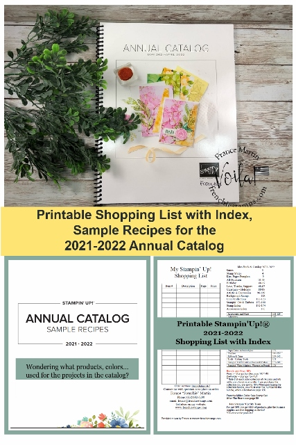 New 2021-2022 Catalog Sample Recipes Available