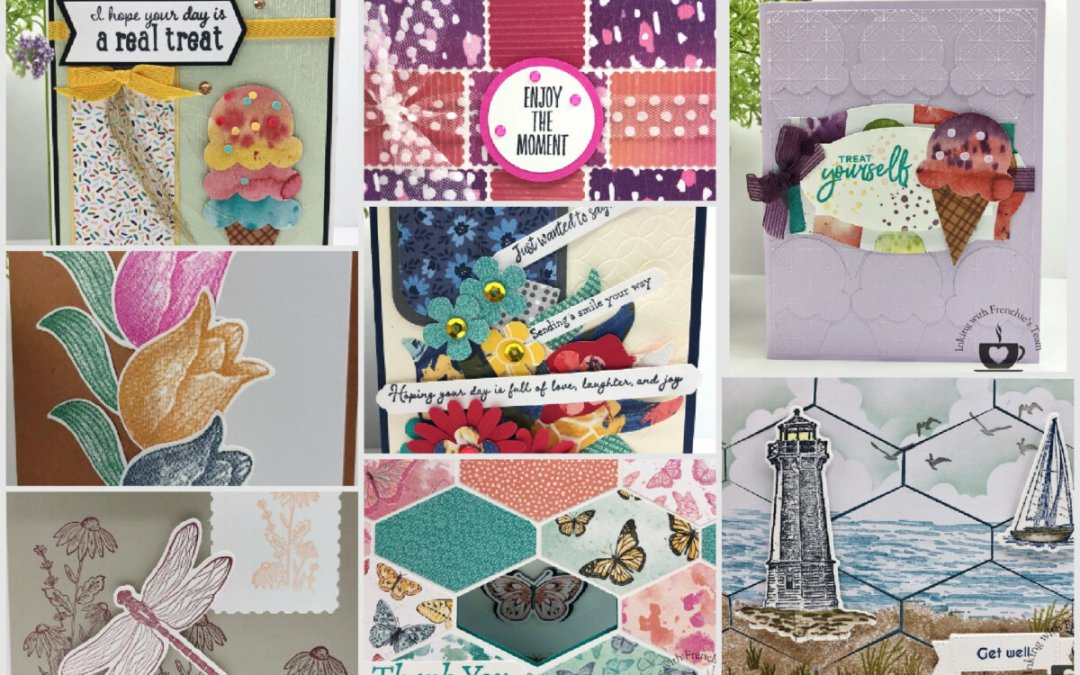 Showcase of Punch Art Cards With Frenchie' Team