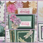 Beautiful Showcase of cards with the 2021 2023 In Color created by Frenchie