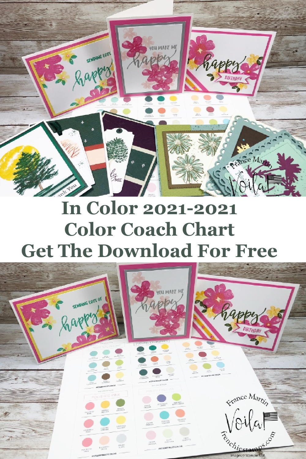 Stampin\' Up! Color Coach for 2021-2023 In-Color