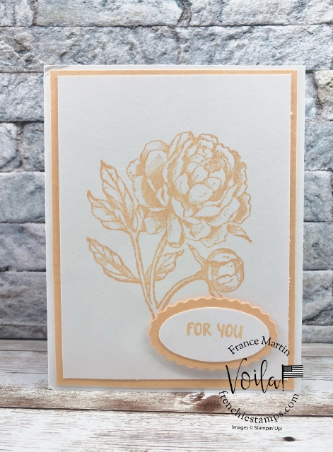Prized Peony  with the 2021 2023 In Color