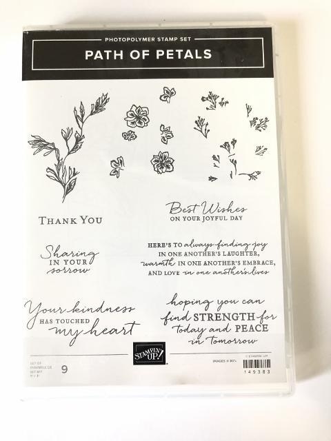 Path Of Petals Stamp Set