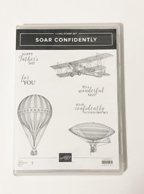 Soar Confidently stamp set