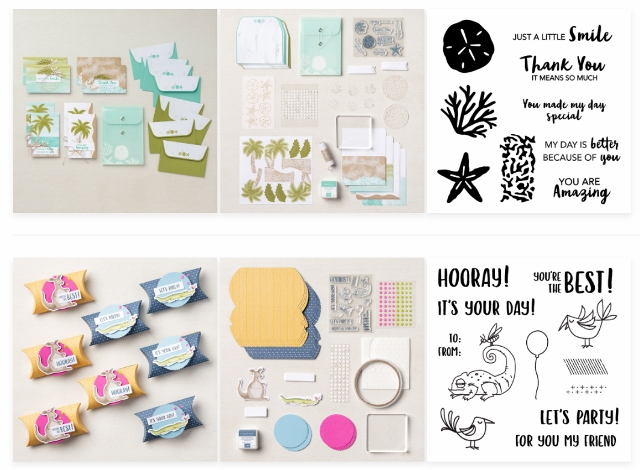 All Inclusive Card Kits by Stampin'Up!