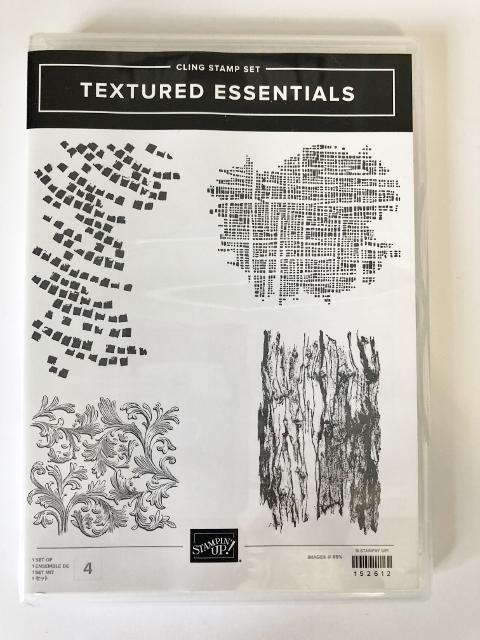 Textured Essentials stamp set