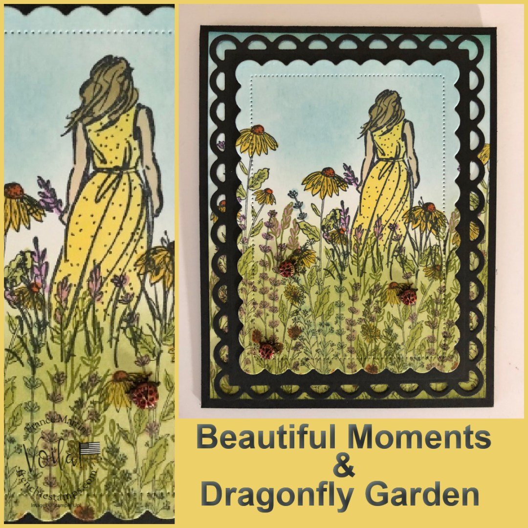 Lovely Scenery with Beautiful Moments and Dragonfly Garden