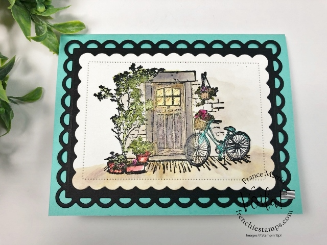 Simple Watercolor with Feels Like Home stamp set