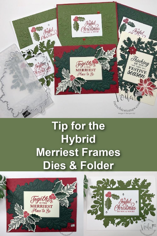 Merriest Frame Hybrid Folder and Die Tip Video