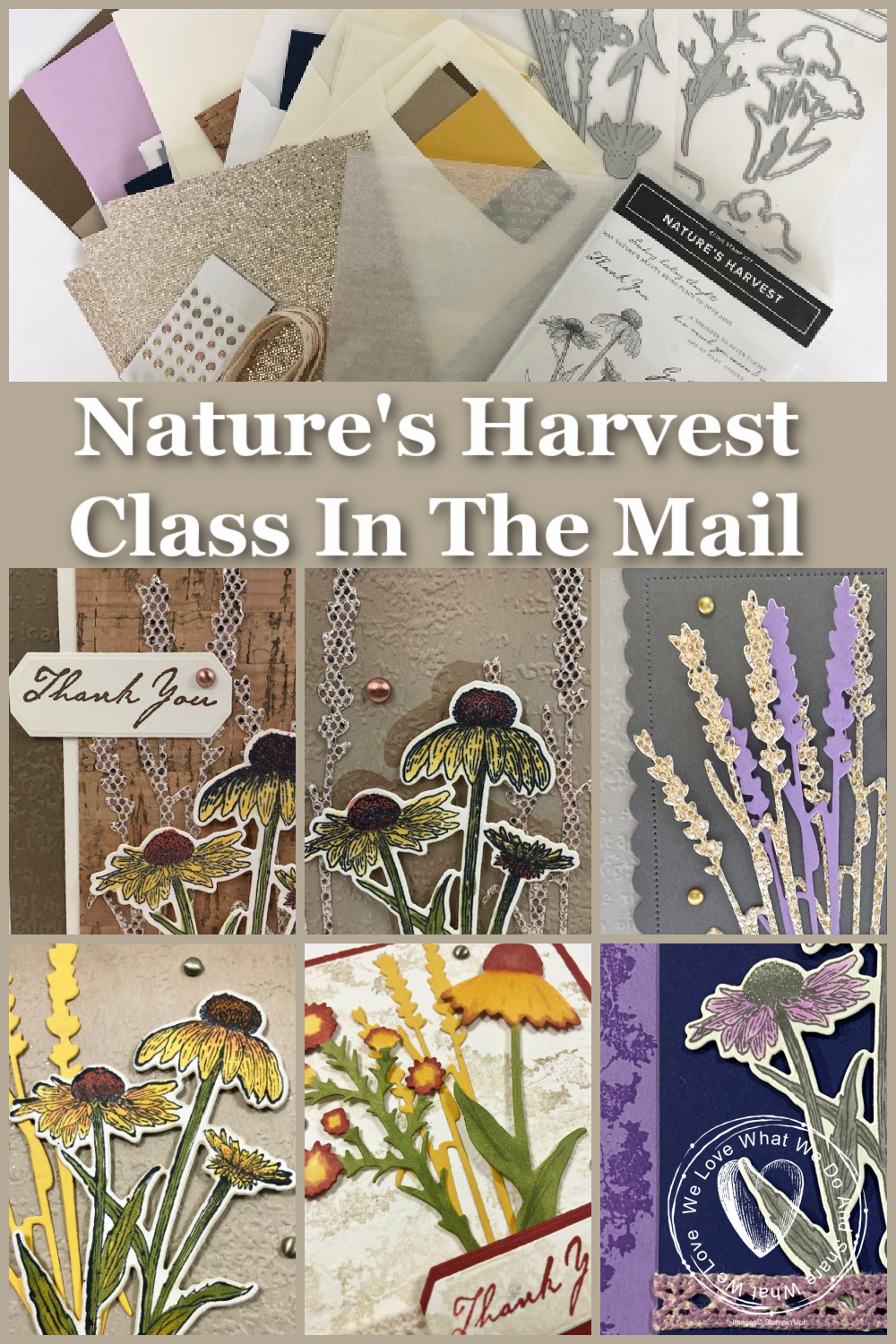 Nature\'s Harvest Class in the mail with Frenchie\'s