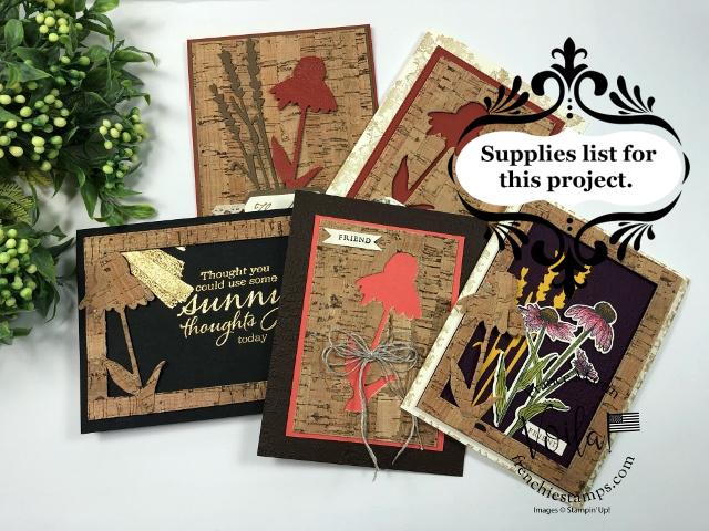 Nature's Harvest Bundle with Cork Paper.
