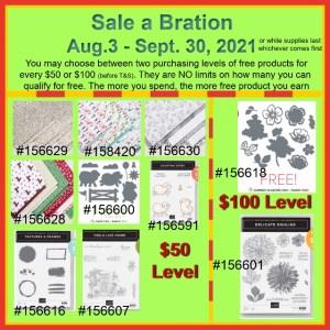 Sale A Bration Aug-Sept. 2021
