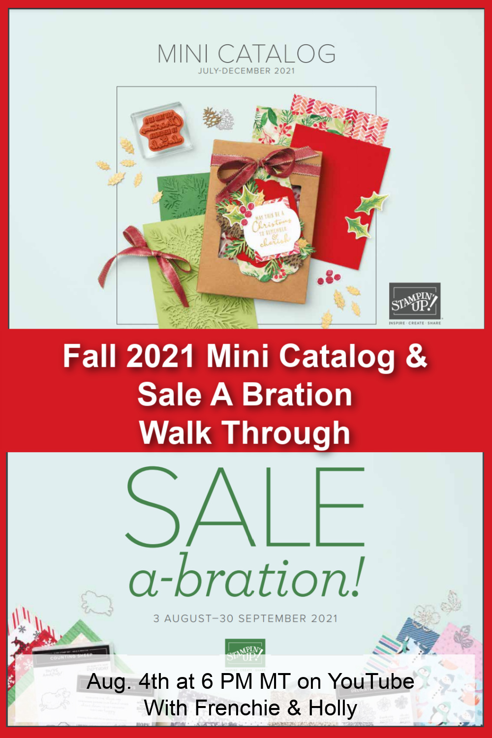 Walk Through Of the 2021 Fall Catalog and Sale A Bration.