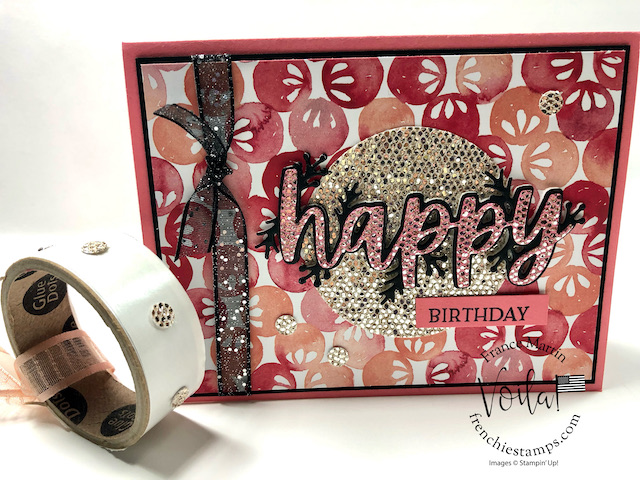 Be Dazzling and Christmas Cheer Dies Birthday Cards