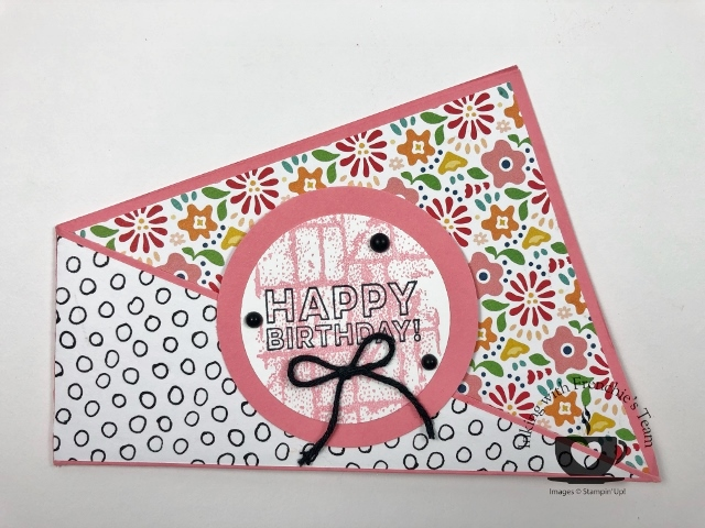 Frenchie's Team Showcasing Cards With Embellishments.