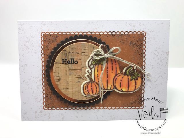 Easy way To Color On Vellum Pretty Pumpkins set Set