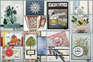 Frenchie's Team Showcasing Cards With Embellishments