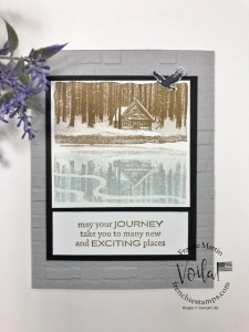 Polaroid Card With Reflected In Nature Stamp Set