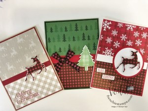 Simple Holiday Cards With Peaceful Prints Designer Paper