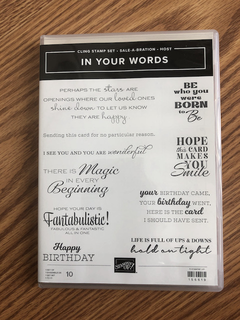 In Your Words Stamp Set