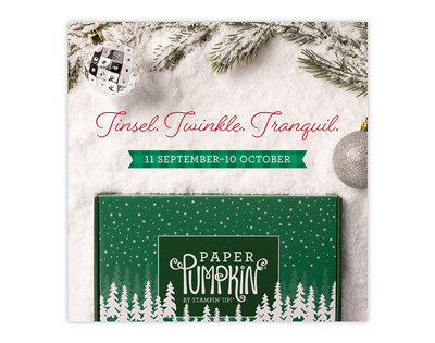 Peaceful Christmas Card Kit.